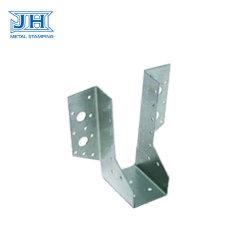 Metallherstellung, die hölzernen Bauholz-Rahmen-Befestigungsteil-Verbinder im Aufbau stempelt