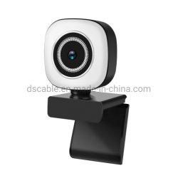 PC Kamera USB-4K mit eingebautem Mikrofon USB-Web-Nocken für PC Computer-Mac-Laptop TischplattenYoutube Skype