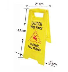 Pas de parking Cautionboard plancher mouillé signe de la sécurité d'avertissement de la route