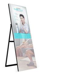 Fête d'anniversaire de mariage ovale Selfie automatique m Photo miroir Stand Photo Booth avec l'Imprimante et appareil photo