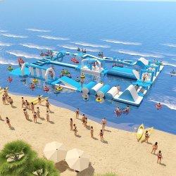L'été de l'eau Parc d'Attractions gonflables commercial du parc de l'eau drôle d'eau Cours d'obstacle