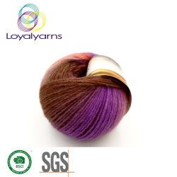 Merino/Alpaca/Nylon fios mesclados para Padrão de fios de croché Ly-W063