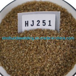 Hj251 منصهرة المنغنيز المنخفضة من النوع، السيليكون المتوسط، فلوريسنت متوسطة