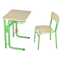 Estudiante en el aula escritorio y silla de plástico/Estudiante/Madera silla mesa Estudiante