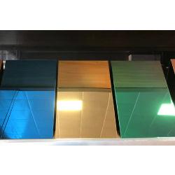 Verschiedene Farben walzten Fassade-Wand-Decken-Edelstahl-Blatt kalt