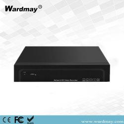 Caméra IP 16SHC de sécurité réseau P2P 4K de l'enregistreur vidéo Poe NVR
