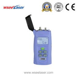 جهاز قياس الطاقة البصري المحمول باليد FTTH High Precision، الذي يعمل بتقنية التوهين من ألياف الذيل أداة اختبار جهاز الكشف - 70~ + 3 ديسيبل مللي واط لمقياس الطاقة البصري