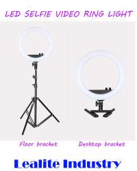 Make Up Live Video kreisförmige Deckenfotografie LED Selfie Ring Leichter Telefonclip