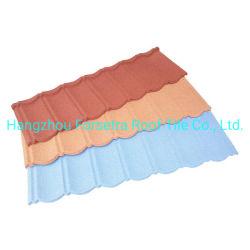 방수 장식 구조 재료 골판형 지붕재 방화 석재 코팅된 지붕 타일 건축 자재