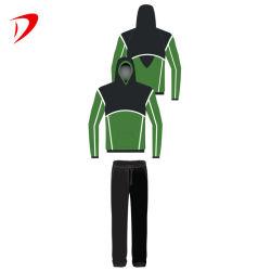 Дешевые Сублимация зеленый цвет мужчина спортивного индивидуальные Man пользовательские Tracksuits Hoodies свитеры оптовая торговля