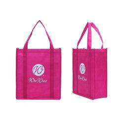 شركة مصنعة صينية شركة مصنعة صديقة للبيئة قابلة للتحلل البيولوجي قابلة للاستخدام في تصنيع البقالة منقوعة حقيبة تسوق بوت حقائب اليد سوق الهدايا غير منسوجة