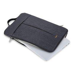 노트북 휴대 케이스 커버 앞면 포켓 폴리에스터가 있는 노트북 슬리브