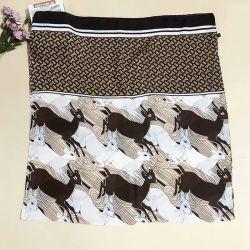 El patrón de venado de las mujeres bufandas de seda Pañuelo de seda de morera