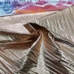 La feuille imprimée Full-Dull 380t ondulée taffetas de nylon Tissu pour Downcoat