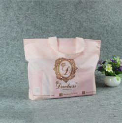 Экологичная 100% и compostable T-Shirt Vest сумка для переноски Сумка для переноски сумка с мягкой петлей