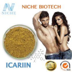 Pharmazeutisches 10:1 Icariin des Grad-Libido Icariin AuszugEpimedium 5% 40% 60% 98%