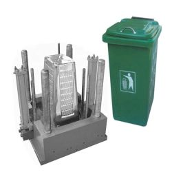 정밀도 플라스틱 주입 형 병원 의학 옥외 졸작 담가 쓰레기 쓰레기 폐기물 콘테이너 궤 형 조형 부속