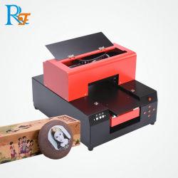 Le document RFC A4 Inkjet Imprimante scanner à plat UV en métal pour le golf de la machine d'impression, la plume, en bois, de coton