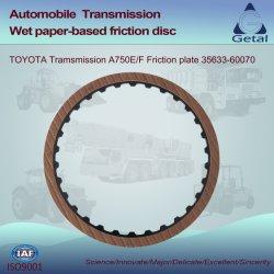 Toyota-Übertragung A750e/F (2003-ON) 5 Geschwindigkeit Rwd Friktions-Platte (35633-60070)