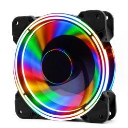 O som do ventilador PC RGB 120mm do ventilador de refrigeração