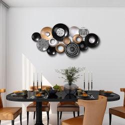 Wanddekoration Retro Eisen Metall Home Art Wanddekoration für Zu Hause