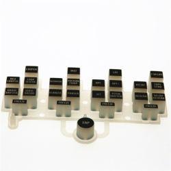 Personalize a fabricação de borracha de silicone condutivo teclas/botões/Teclado de teclado