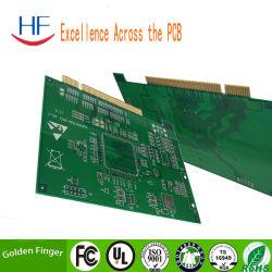 Fr4 1.6 mm 1ozの緑の白写真のサーキット・ボードPCB Enig指PCB