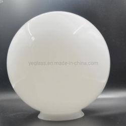 Sfera rotonda di vetro del soffitto del rimontaggio dell'indicatore luminoso bianco del paralume del globo