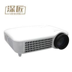 ネイティブ1080P解像度4Kホームシアターのための完全なHD人間の特徴をもつLED LCDデジタルTVビデオプロジェクター