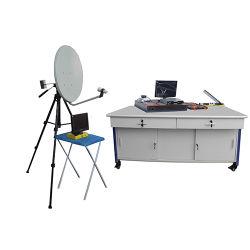 Инструктор связи по вопросам спутниковой связи со спидом дидактическим оборудованием учебного оборудования