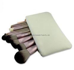 12PCS de unieke Borstel van de Borstel van de Make-up van het Ontwerp Vastgestelde Kosmetische