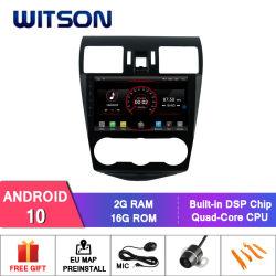 Witson 9'' Android 10 большой экран Car DVD плеер GPS для Subaru Форестера 2013-2015