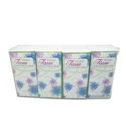 Venda por grosso de tecido de bolso padrão tecido Facial 2 & 3 camadas de celulose virgem ultra-suave serviço OEM Material disponível