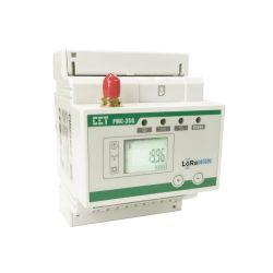 PMC-350-C 35mm dreiphasiger drahtloser Multifunktions-Smart-Messgerät für DIN-Schienen Elektrische Spannung Leistung kWh Messung mit LoRaWAN
