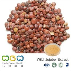 Природные завод извлечения дикой Jujube извлеките с помощью общей Saponin 2% травы травяной