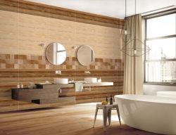 バスルーム、キッチンビル、ガラス張りのセラミックを使用した「ビトリファイドホット」がある 壁のタイル