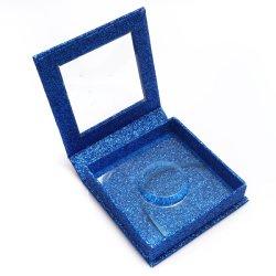 Colash Nerz-Wimper-KästenFaux Cils Peitsche der falsche Wimper-bilden verpackenkasten-kundenspezifische Peitsche-Kasten-Fälschungs-3D Firmenzeichen-Aufkleber