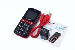 De nouveaux produits de la Chine des articles cadeaux Petit Cheap Sos téléphone gps téléphone mobile GSM de mini-carte