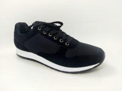 La pelle scamosciata all'ingrosso di Flyknit calza la scarpa da tennis corrente pareggiante di vendita, le calzature degli uomini casuali atletici di svago, pattini respirabili di nuovo modo di stile di alta qualità dell'iniezione