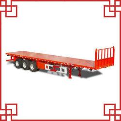 China 3 Aanhangwagen van de Containers van het Bed van Assen 40FT de Vlakke (sm-22)