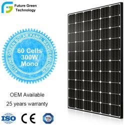 Monocristalino 250 W, 285W, 300W, PV Moudle fotovoltaicos para Planta de Energía Solar