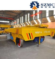 Kpdz 2~150t Stromversorgung-Schienenstrang-flache Übergangskarre