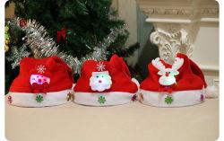 크리스마스 장식 신년 LED 조명 어린이 탄절 햇빛의 산타클로스 모자