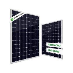 500W 510W 530W Trina Longi Mono 12bb Solar Home Power Panel pour le commerce de gros