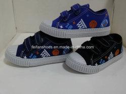 Мода детей ЭБУ системы впрыска повседневная обувь Magic Canvas ленты обувь (HH18513-8)