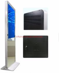 Heiße Verkaufs-magischer Spiegel LCD, der Bildschirmanzeige mit Bewegungs-Fühler bekanntmacht