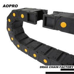 Elemento portante Chain di resistenza flessibile di Aopro, nylon materiale del PVC, catena di energia