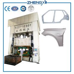 Véhicule blindé Presse Boutique Ligne de production en usine un ensemble complet de la Solution 3000 tonne