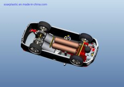 Lega di alluminio di fusione sotto pressione di plastica del giocattolo della lega di alluminio dello stampaggio ad iniezione del prodotto che fonde sotto pressione