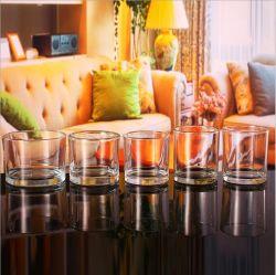 Дешевые Custom очистить стеклянный кувшин в форме свечи цилиндра для принятия решений при свечах оптовая торговля